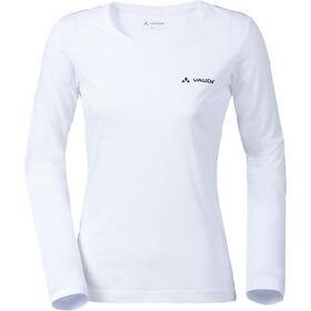 VAUDE Brand LS Shirt Women, blanco